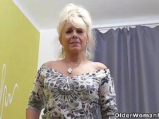 An older woman means fun